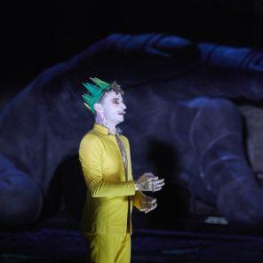 Thyeste, de Sénèque, mise en scène de Thomas Jolly, Cour d'honneur du Palais des Papes, Festival d'Avignon.