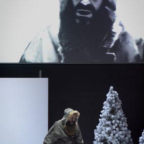 Construire un feu, de Jack London, mise en scène de Marc Lainé, Studio-Théâtre Comédie Française