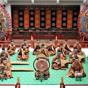 Gagaku impérial, Musiciens et danseurs du Département de musique de la maison impériale du japon, Philharmonie de Paris / Japonisme 2018