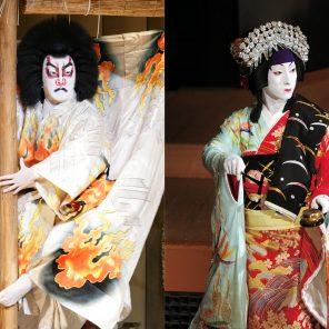 Kasane/Narukami, Grand Kabuki, Compagnie Shochiku, Théâtre National de la Danse / Japonisme / Festival d'Automne à Paris