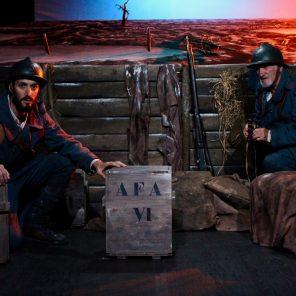 Moi, soldat inconnu, de Grégory Duvall, mise en scène de Philippe Ogouz, Théâtre Montmartre Galabru