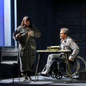 Misery, deWilliam Goldman d'après le roman de Stephen King, mise en scène Daniel Benoin, Théâtre Hébertot, Paris
