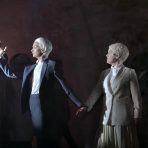 Orphée et Eurydice, de Gluck, remanié par Berlioz, mise en scène d'Aurélien Bory, à l'Opéra-Comique