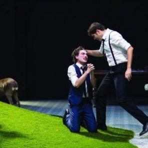 Le jeu de l'amour et du hasard de Marivaux, mise en scène de Benoît Lambert, Théâtre de l'Aquarium