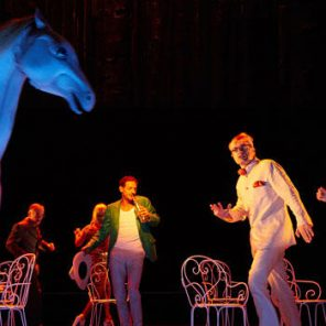 Ervart, ou les derniers jours de Nietzsche, de Hervé Blutsch, mise en scène Laurent Fréchuret, au Théâtre de la Croix-Rousse, Lyon