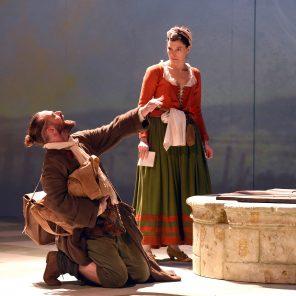 Georges dandin ou le mari confondu, de Molière, mise en scène de Jean-Pierre Vincent, à la MC93 de Bobigny