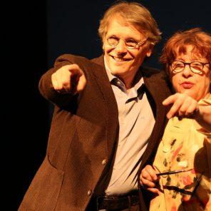 Un amour exemplaire, d'après la bande dessinée de Florence Cestac et Daniel Pennac, mise en scène de Clara Bauer au Théâtre du Rond-Point