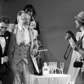 Le Banquet, de Mathilda May, au Théâtre du Rond-Point, Salle Renaud-Barrault