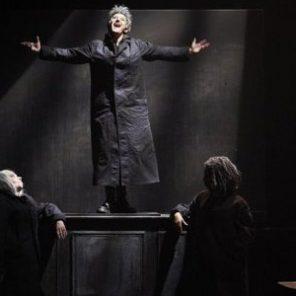 Les Hérétiques, de Mariette Navarro, mise en scène de François Rancillac, Théâtre de l'Aquarium