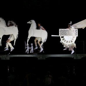 Mahabharata-Nalacharitam, mise en scène de Satoshi Miyagi, Grande Halle de la Villette, Festival Japonisme