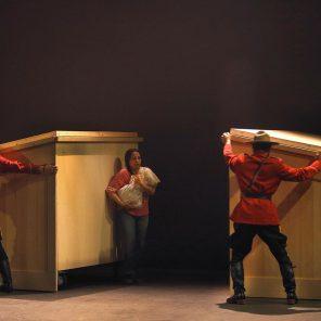 Kanata-Episode 1-La controverse, mise en scène de Robert Lepage, Théâtre du Soleil, la cartoucherie, Festival d'automne à Paris