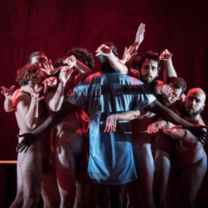 The Scarlet Letter, inspiré de l'œuvre de Nathaniel Hawthorne, mise en scène Angélica Liddell, au Théâtre de la Colline