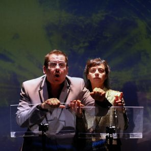 Notre Parole, textes de Valère Novarina, mise en scène de Cédric Orain au Théâtre de la Cité Internationale