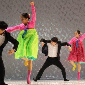North Korea Danse, Chorégraphie de Eun-Me Ahn, au Théâtre des Abbesses
