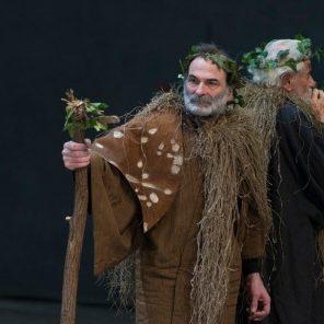 Les Bacchantes, texte d'Euripide, mise en scène de Bernard Sobel, au T2G-Théâtre de Gennevilliers