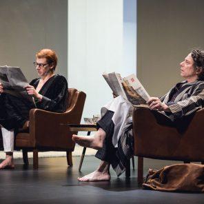 La Collection, de Harold Pinter, mise en scène de Ludovic Lagarde, Théâtre des Bouffes du Nord