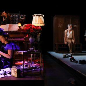 Funeral blues, the missing cabaret, musique de Benjamin Britten, texte de Wystan Hugh Auden, mise en scène d'Olivier Fredj, Théâtre des Bouffes du Nord