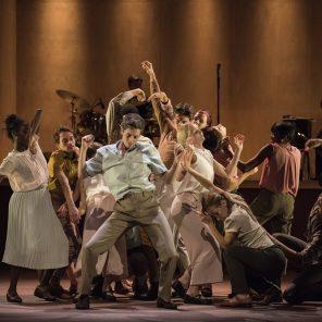 Goat, chorégraphie Ben Duke par le ballet Rambert au Théâtre des Abbesses