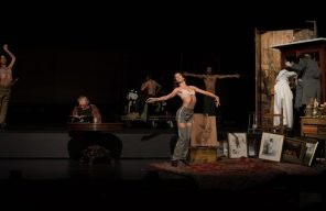 Guerre et Térébenthine, mise en scène, scénographie, adaptation théâtrale de Jan Lauwers, MC93 Bobigny