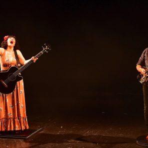 Lili Cros et Thierry Chazelle, mise en scène Fred Radix et François Pilon« Clown Vulcano », à L'Olympia