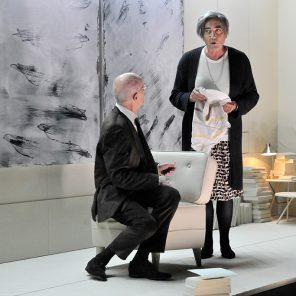 La Leçon, d'Eugène Ionesco, mise en scène Christian Scharetti, au TNP Villeurbanne