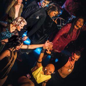 Cabaret de Poussière, conception de Martin Dust, au Zèbre