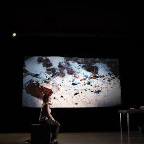 36e DESSOUS, chronique d'un désastre écologique annoncé, mise en scène Odile Macchi, Théâtre La Reine Blanche