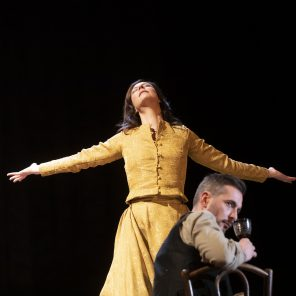 Mademoiselle Julie, d'August Strindberg, mise en scène de Julie Brochen, Théâtre de l'Atelier