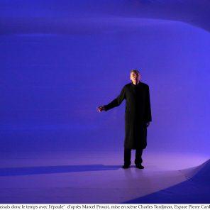 Je poussais donc le temps avec l'épaule, d'après Marcel Proust, mise en scène de Charles Tordjman, Espace Cardin - Théâtre de la Ville