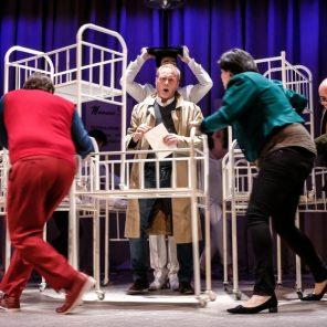 Le testament de la tante Caroline, opérette en un acte d'Albert Roussel, livret de Nino, direction musicale Dylan Corlay, mise en scène de Pascal Neyron, avec l'Orchestre des Frivolités Parisiennes