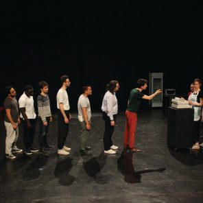 Electronic City, de Falk Richter, mise en scène de François Rancillac au Théâtre de l'Aquarium, Festival des écoles du théâtre public