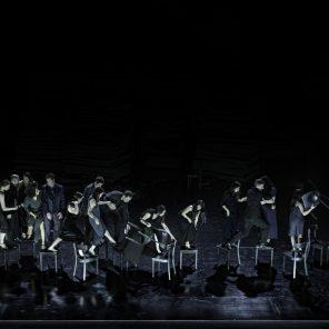 Since she, chorégraphie Dimitris Papaioannou, Tanztheater Wuppertal Pina Bausch, La Villette / Théâtre de la Ville Hors les Murs