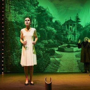 L'Amour vainqueur, texte, mise en scène et musique d'Olivier Py, Gymnase du lycée Mistral, Festival Avignon 2019