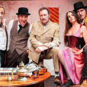 Le Secret de Sherlock Holmes, comédie policière de Christophe Guillon et Christian Chevalier, mise en scène de Christophe Guillon, au Théâtre Notre-Dame, Festival d'Avignon 2019