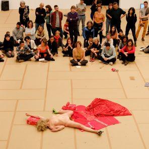 Panoramix, conception La Ribot, Centre Pompidou / Festival d'Automne à Paris