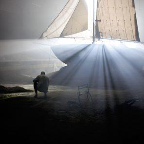 Les Naufragés, d'après le roman de Patrick Declerck, mise en scène d'Emmanuel Meirieu, Théâtre de Bouffes du Nord