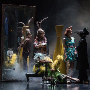 Lewis versus Alice, d'après Lewis Carroll, mise en scène de Macha Makeïeff, Théâtre Gérard Philipe de Saint-Denis