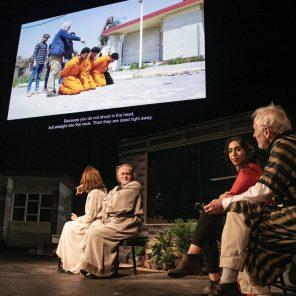 Oreste à Mossoul, texte et mise en scène de Milo Rau d'après Eschyle au Théâtre Nanterre-Amandiers