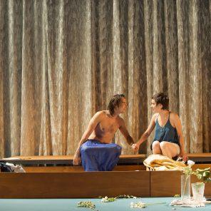 Le Pont du Nord, texte et mise en scène de Marie Fortuit au théâtre L'Échangeur, à Bagnolet