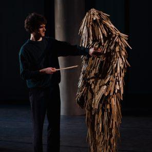 Matisklo, texte de Paul Celan, mise en scène de Bosse Provoost/Collectif Kraagsteen, Festival P.U.L.S