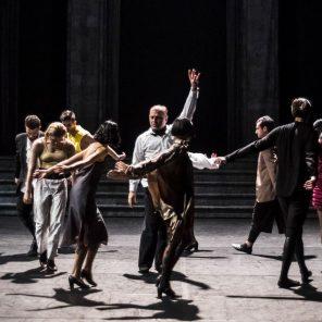 Marry me in Bassiani, Conception et mise en scène (LA)HORDE, à la Maison des Arts de Créteil, Théâtre de la Ville hors les murs.
