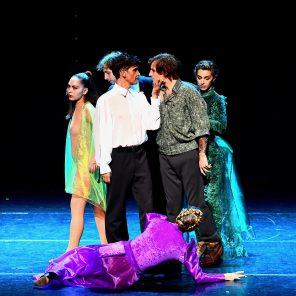 Rimbaud Verlaine, livret et mise en scène de Stéphan Roche, musique de Daniele Martini, Théâtre du Gymnase - Marie Bell