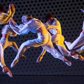 Trois Ballets, chorégraphie Merce Cunningham, au Théâtre National de Chaillot – Théâtre de la Ville hors les murs, Portrait Merce Cunningham, Festival d'Automne Paris