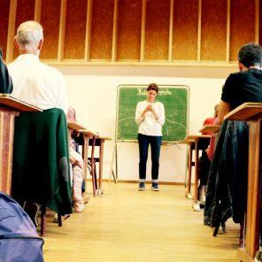 Innocent.e.s, écrit par Guillaume Cayet, mise en scène par Fleur Sulmont, MC 93 - Maison de la Culture de Seine-Saint-Denis (représentation dans les lycées de Seine-Saint-Denis)