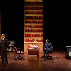 L'opposition Mitterrand vs Rocard, de Georges Naudy, mise en scène d'Éric Civanyan, au Théâtre de l'Atelier