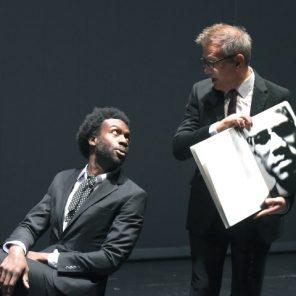 Baldwin/Avedon : Entretiens imaginaires, de Kevin Keiss et Élise Vigier, mise en scène d'Élise Vigier, Théâtre 14