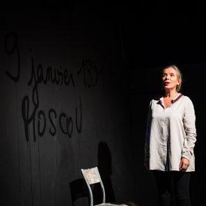 Correspondance avec la mouette, Texte d'Anton Tchekhov et Lydia Mizinova, mise en scène Nicolas Struve, Théâtre Les Déchargeurs