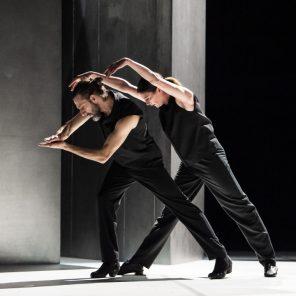 Magma, de Christian Rizzo, avec Marie-Agnès Gillot et Andrés Marín, au Théâtre national de la danse – Chaillot