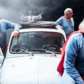 Les Italiens, conçu et mis en scène par Massimo Furlan, à la MC93 - Bobigny