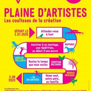 Du 2 juillet au 2 août 2020, Plaine d'artistes, La Villette se transforme en scènes ouvertes au public